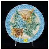 "Majolica 8 3/4"" plate"