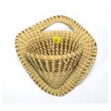 Gullah (North Carolina) wall basket