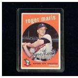 Topps 1959 No. 202 Roger Maris baseball card