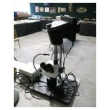 Lecia microscope with 6 photo stereo zoom with