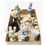 Lot, figurines