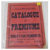 "Illustrated catalog of premiums, ""World"