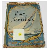 World War I scrapbook, many photos of aircraft