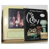 Lot, books on pottery