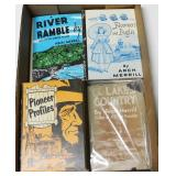 Lot, 4 Arch Merrill books plus canal Town by