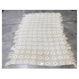 Crocheted bedspread
