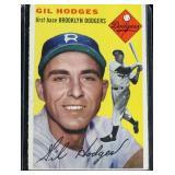 1954 Topps #102 Gil Hodges baseball card
