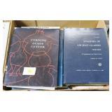 3- Boxes books on glass, Steuben, Frederick