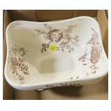 Vintage transferware bowl