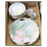 Lot, porcelain plates, German and Austrian, 2