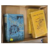 "Lot, Civil War era books inlduing ""The Boy Spy"""