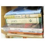 Lot, oversized railroad books