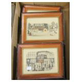 Lot, 4 early steam locomotives