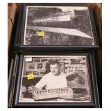 Lot, framed photos covered bridge