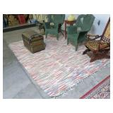 Hooked rug, 7
