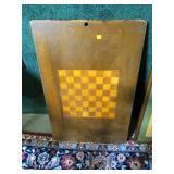 """Wood checker board, 19"""" x 30"""""""