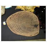 Washoe pine nut winnowing basket, Nevada,