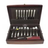 36- piece Westmorland sterling flatware set,