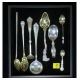 Lot, Sterling assorted spoons, 8 pcs. (110.5 Gr.
