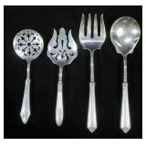 Lot, Sterling handled serving pieces, 4 pcs.