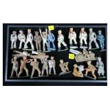 Lot, 23 lead soldiers and sailors