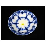 "New Wharf Pottery ""Trent"" Flow Blue bowl, 9"" D"