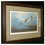 "Print, ""Wind and Water"" 84/1000 signed A. Taylor,"