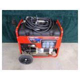 Troy-Built 5000-watt generator with electric start