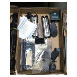 Lot, AR parts: sight, repair kit, rails, rings and