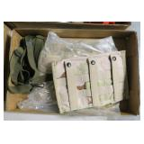 Lot, magazine pouches, desert camo for 3 mags