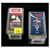 2- Cases of CCI .17 HMR cartridges