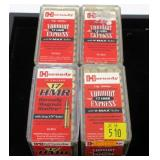 4- Cases of Hornady .17 HMR Vermint Express V-Max