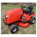 "Simplicity Regent EX 22 hp riding lawnmower, 38"""