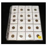 Partial set Lincoln cents: 1911-1933, many