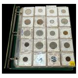 Lot, foreign coins, approx. 96 pcs.