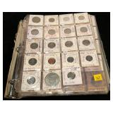 Lot, foreign coins, approx. 275 pcs.