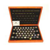 Gold plated quarter set