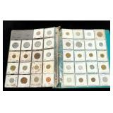 Lot, foreign coins, approx 57 pcs.