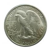 1917 Walking Liberty half dollar, uncirculated