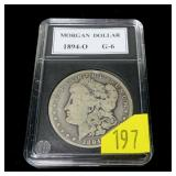 1894-O Morgan dollar, G-6