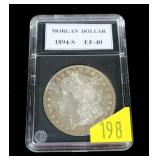 1894-S Morgan dollar, MS-62