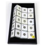 40- Mercury dimes, 90% silver