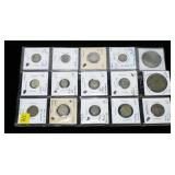 Lot of foreign silver coins, 19 pcs.