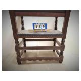 Spanish Colonial Friar / Monk / Throne Armchair Oak
