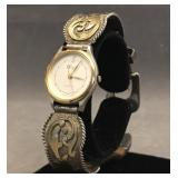 Vogt sterling w/gold overlay watch