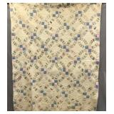 1940s wedding ring quilt