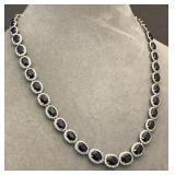 14k & 39.05ct Sapphire necklace