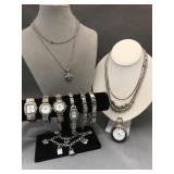 12 piece Brighton jewelry, includes sterling