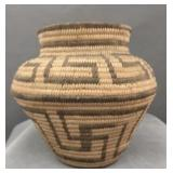 Washo American Indian coil basket Circa 1910