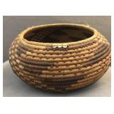 Pomo American Indian very fine coil basket